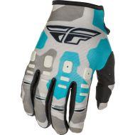 Fly Racing 2021 Kinetic K221 Gloves Grey/Blue