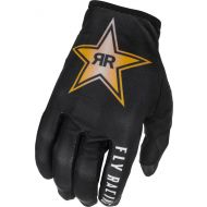 Fly Racing 2022 Lite Gloves Rockstar Black/Yellow/White