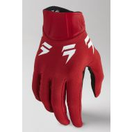 Shift MX White Label Trac Youth Gloves Red