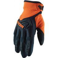 Thor 2020 Spectrum Youth Glove Midnight/Red Orange