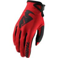 Thor Sector Youth Glove Red