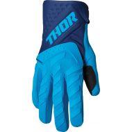 Thor 2022 Spectrum Youth Gloves Blue/Navy