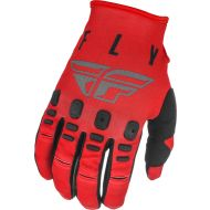 Fly Racing 2021 Kinetic K121 Youth Gloves Red/Grey/Black