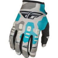 Fly Racing 2021 Kinetic K221 Youth Gloves Grey/Blue