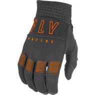 Fly Racing 2021 F-16 Youth Gloves Grey/Orange