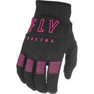 Fly Racing 2021 F-16 Youth Gloves Black/Pink