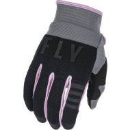 Fly Racing 2022 F-16 Youth Gloves Grey/Black/Pink