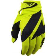 FXR 2020 Clutch Strap Youth MX Glove Hi Vis/Black