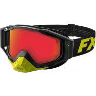 FXR Core E Goggle Black/Hi Vis