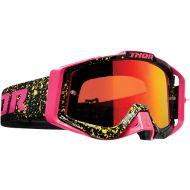 Thor 2020 Sniper Pro Goggle Splatta Flo Pink/Black