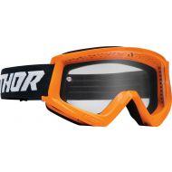 Thor Combat Racer Youth Goggles Flo Orange/Black