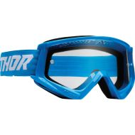 Thor Combat Racer Youth Goggles Blue/White