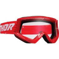 Thor Combat Racer Youth Goggles Red/White