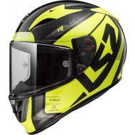 LS2 Helmets Arrow Carbon EVO Helmet Sting Flo Hi-Viz Yellow
