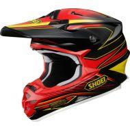 Shoei VFX-W Helmet Sear Black/Red/Yellow