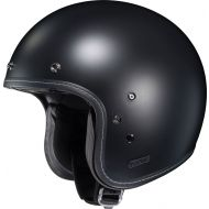 HJC IS-5 Open Face Helmet Semi-Flat Black