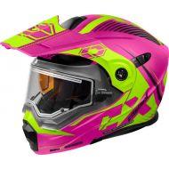 Castle X CX950 Focus Electric Snow Helmet Matte Pink/Hi-Vis