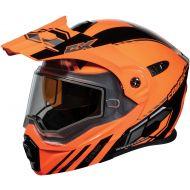 Castle X CX950 Snow Helmet Task Matte Orange/Black