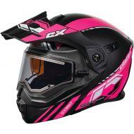 Castle X CX950 Electric Snow Helmet Task Matte Pink/Black
