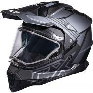 Castle X CX Mode Dual Sport Snow Helmet Agent Charcoal
