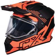 Castle X CX Mode Dual Sport Snow Helmet Agent Flo Orange