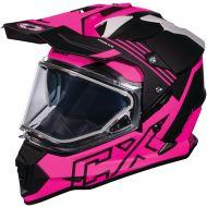 Castle X CX Mode Dual Sport Snow Helmet Agent Pink Glo