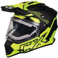 Castle X CX Electric Mode Dual Sport Snow Helmet Agent Hi-Vis