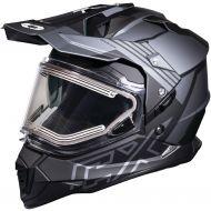 Castle X CX Electric Mode Dual Sport Snow Helmet Agent Charcoal