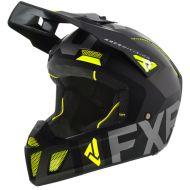 FXR Clutch Evo Helmet Black/Charcoal/Hi Vis