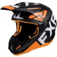 FXR Torque Team Helmet Orange