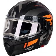 FXR Maverick Modular Team Helmet w/Electric Shield Black/Charcoal/Orange