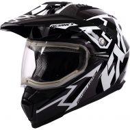 FXR Octane X Deviant Helmet w/Electric Shield Black/White