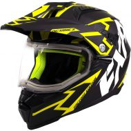 FXR Octane X Deviant Helmet w/Electric Shield Black/Hi Vis
