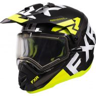 FXR Torque X Evo Helmet Black/Hi Vis/Charcoal
