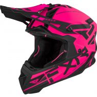 FXR Helium Race Division Helmet Elec. Pink