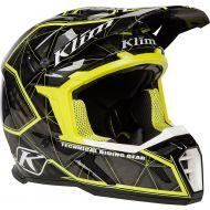 Klim 2019 F5 Helmet Demolish Green