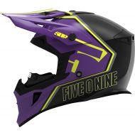 509 Tactical Snowmobile Helmet Purple Hi-Vis
