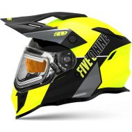 509 Delta R3L Ignite Snowmobile Helmet w/Fidlock Lime Green Gray