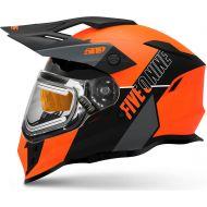 509 Delta R3L Ignite Snowmobile Helmet w/Fidlock Orange Gray