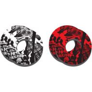 Factory Effex Metal Mulisha Grip Donuts Black/Red