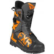 FXR Helium Pro BOA Boot Black/Charcoal/Orange