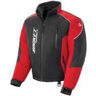 Rocket Snow Gear Mens Storm XC Snowmobile Jacket Black/Red
