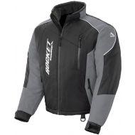 Rocket Snow Gear Mens Storm XC Snowmobile Jacket Black/Gray