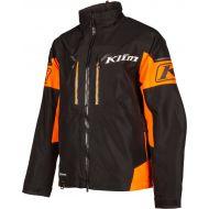 Klim Tomahawk Snowmobile Jacket Black/Strike Orange