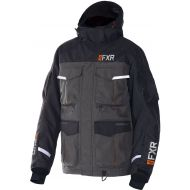 FXR Excursion Ice Pro RL Jacket Black/Charcoal/Orange