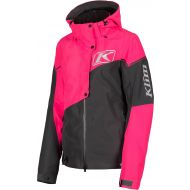 Klim 2022 Alpine Womens Jacket Asphalt/Knockout Pink