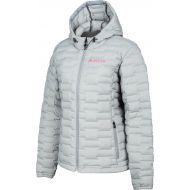 Klim Luna Womens Snowmobile Jacket Monument Gray/Knockout Pink