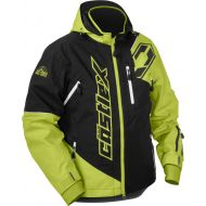 Castle X Stance Snowmobile Jacket Lime/Black