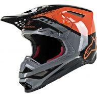 Alpinestars M-8 Helmet Orange/Black
