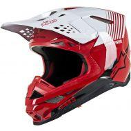Alpinestars S-M10 Supertech Helmet Red/White
